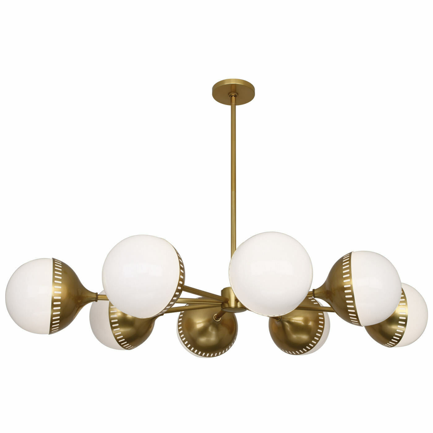 Rio Oval Spoke Chandelier