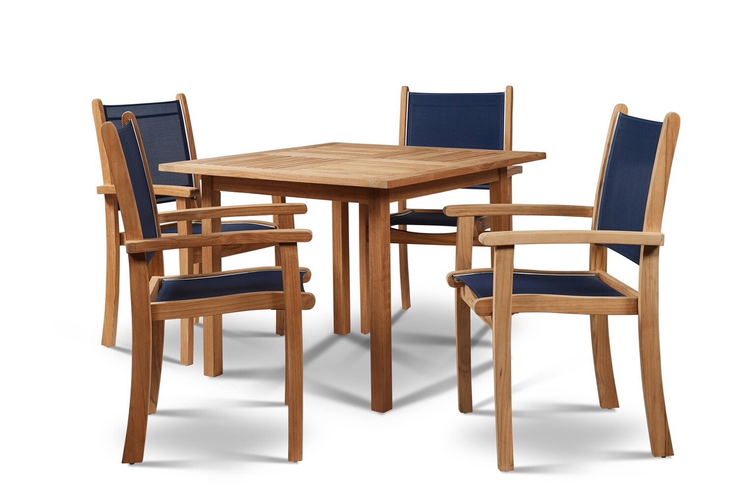 "Pearl  35""  Teak Dining Set 