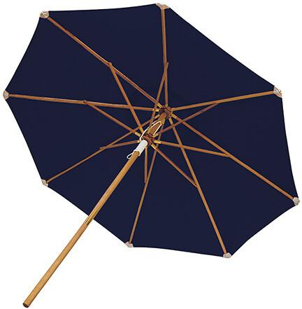 Round Teak 10' Market Umbrella