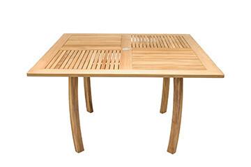 Coastal Premium Teak Square Dining Table