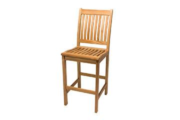 Teak Bar Chair   Set of 2