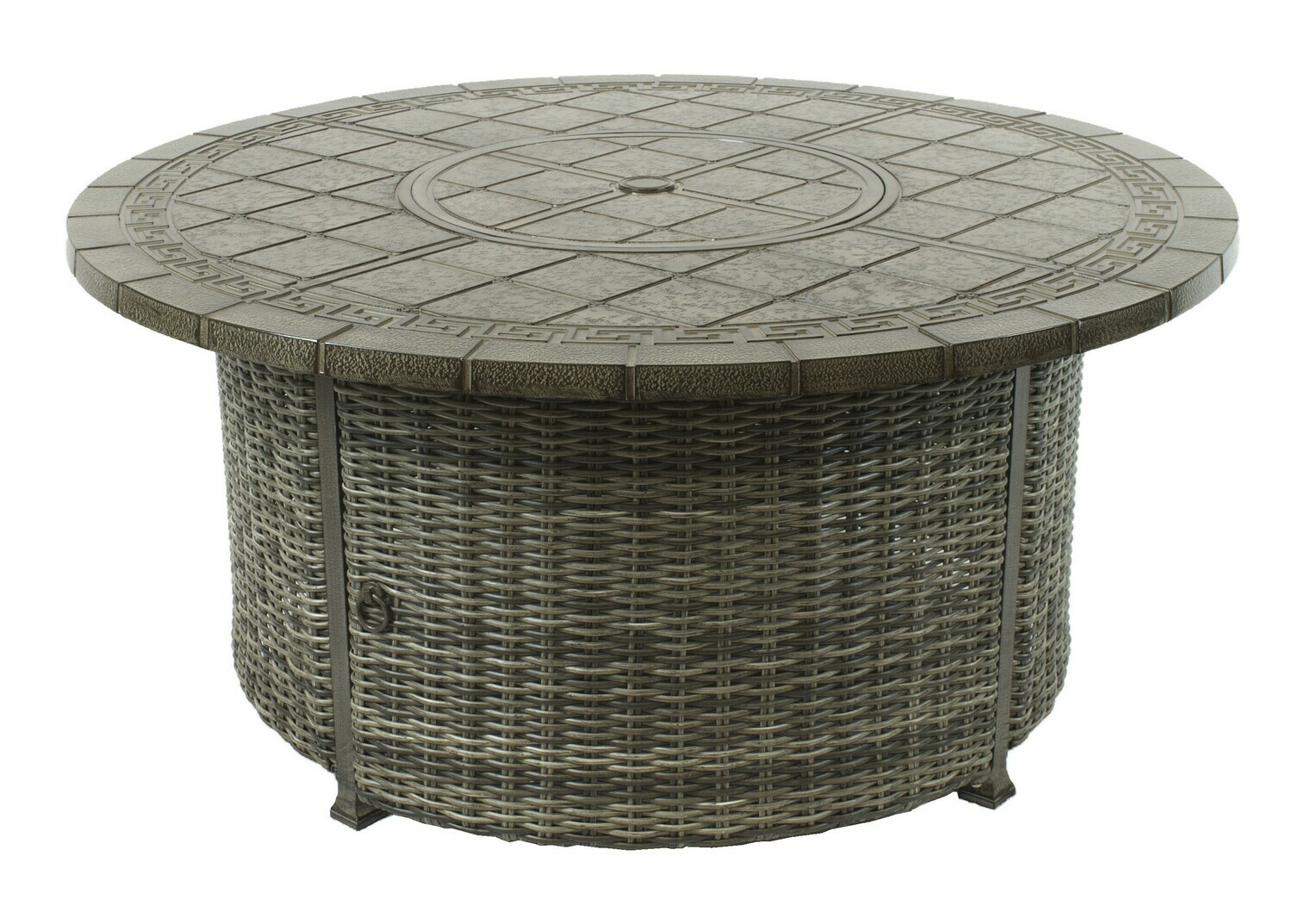 """Allegro Wicker Collection 52"""" Fire Pit"""