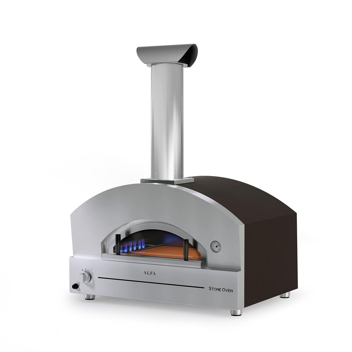 "Alfa Stone Large 31"" Gas Pizza Oven"