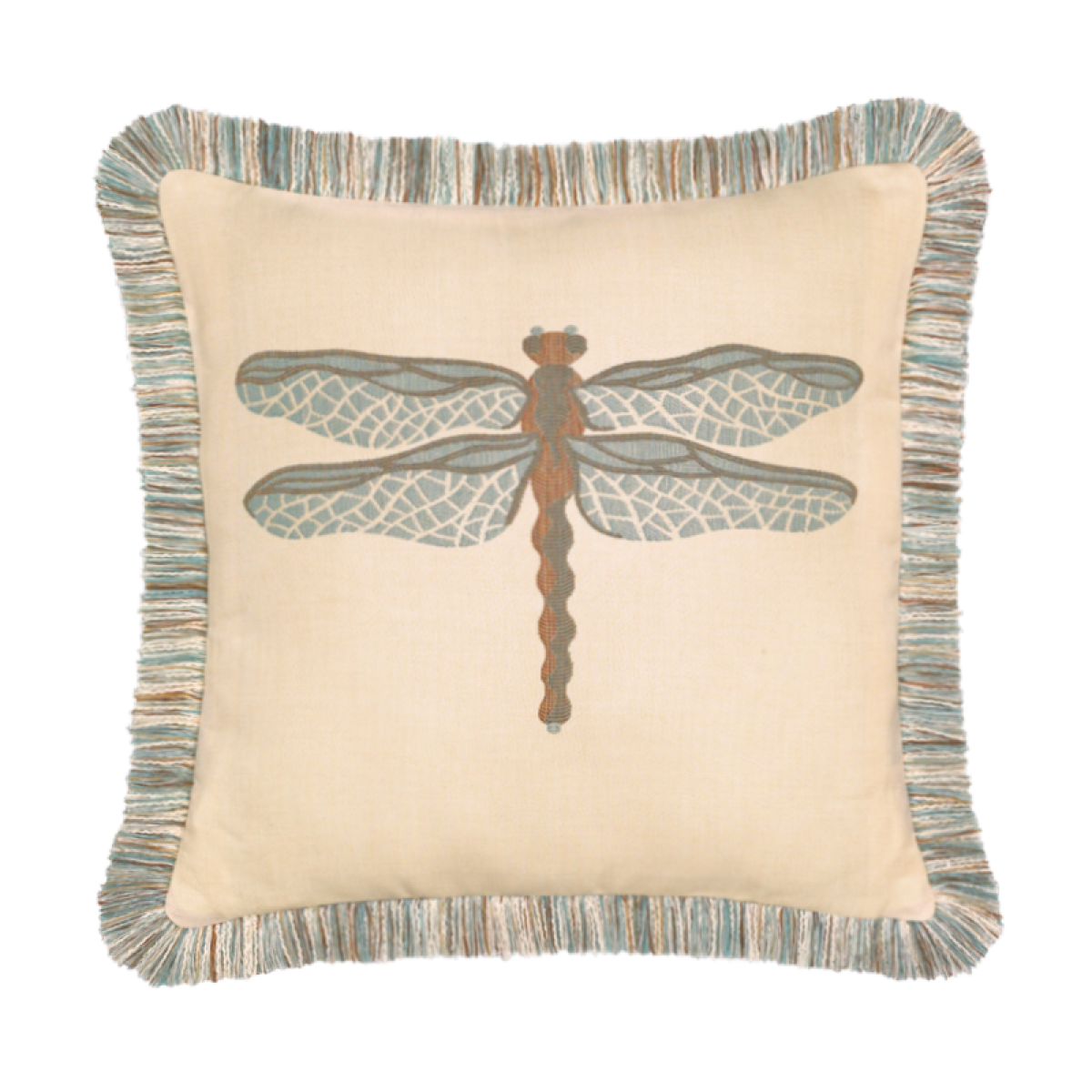 Elaine Smith Dragonfly 20 x 20  Indoor/Outdoor Pillow | 5 Colors