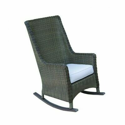 Seaside Patio High Back Rocker