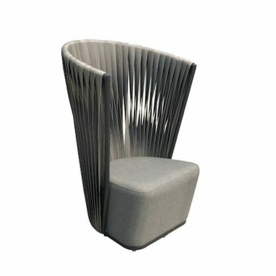 Corsica Wicker High Back Chair