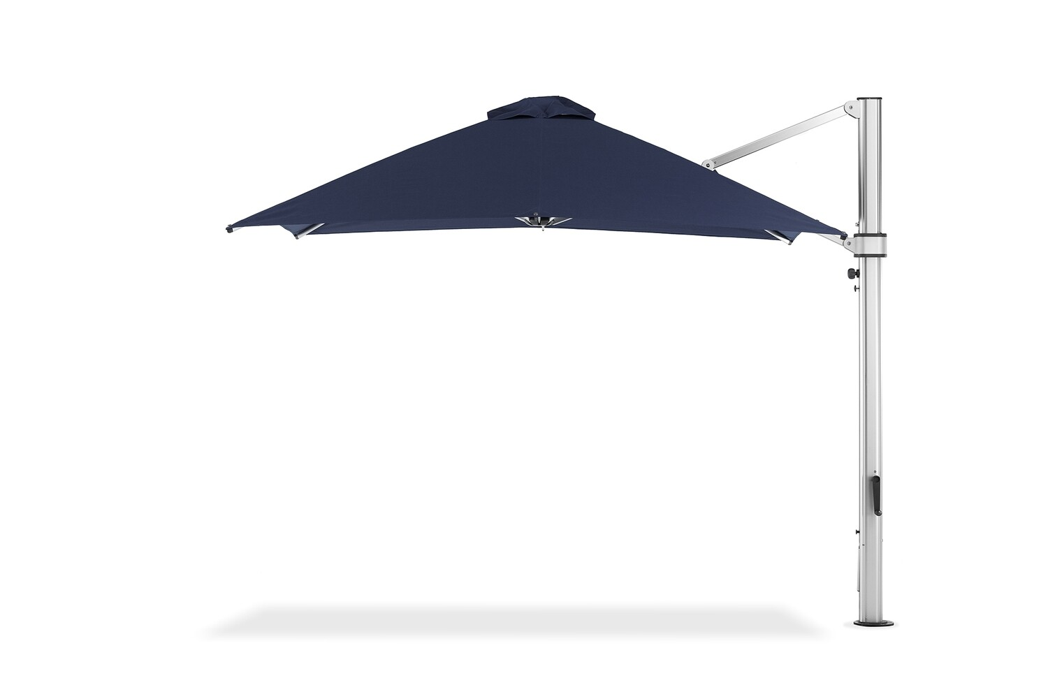 Elaine's Eclipse Cantilever Umbrella with In Ground Mounting System