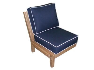South Beach Teak Sectional Sofa Insert