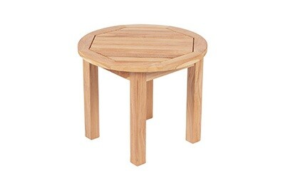 South Beach Teak Round Side Table