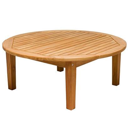 Teak Round Sofa Table