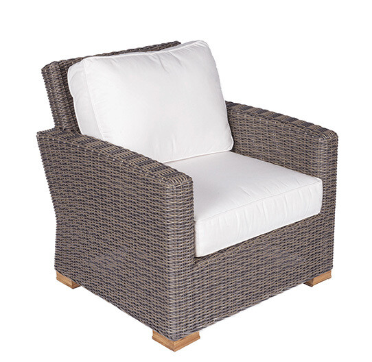 Naples Wicker Club Chair