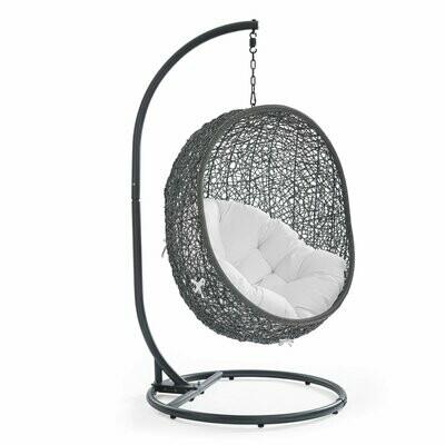 Hive Patio Swing Lounge Chair | Gray