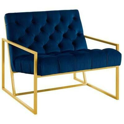 Andrea Velvet Accent Chair | 4 Colors