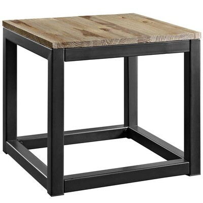 Alma Side Table in Brown