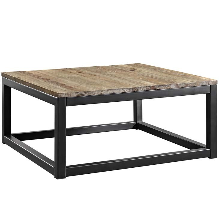 Alma Coffee Table in Brown