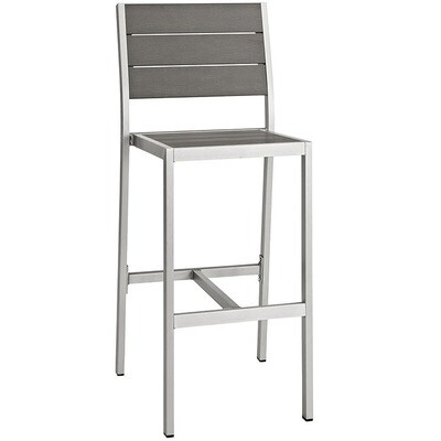 Shoreline Armless Bar Stool