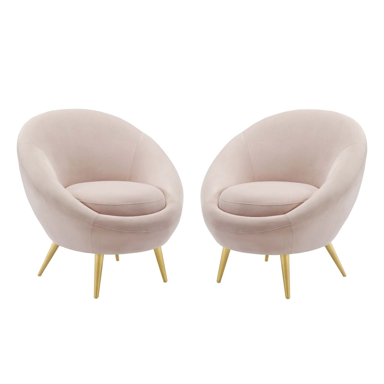Cercus Lounge Chair |  Set of 2 | 2 Colors