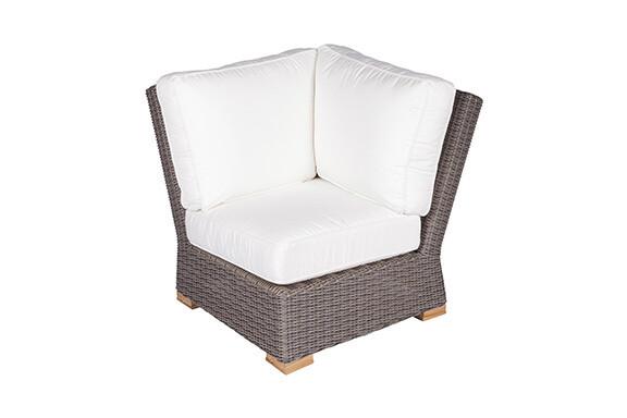 Naples Wicker Sectional Sofa Corner