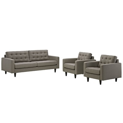 Empire 3-Peice Living Room Set | 8 Colors