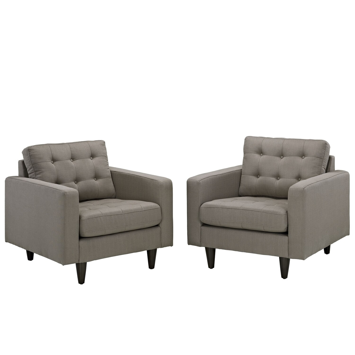 Empire Armchair Set of 2   9 Colors