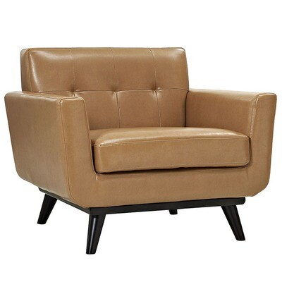 Montgomery Bonded Leather Armchair