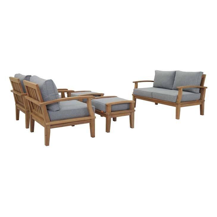 Belmont Harbor 5 Piece Seating Set