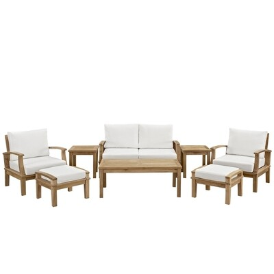Belmont Harbor 8 Piece Seating Set