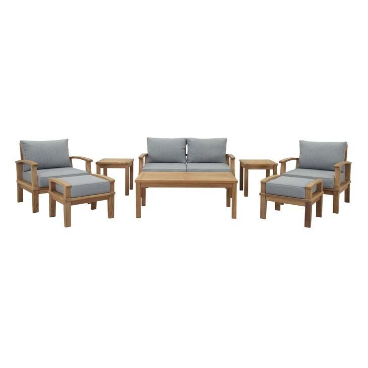 Belmont Harbor 8 Piece Seating Set