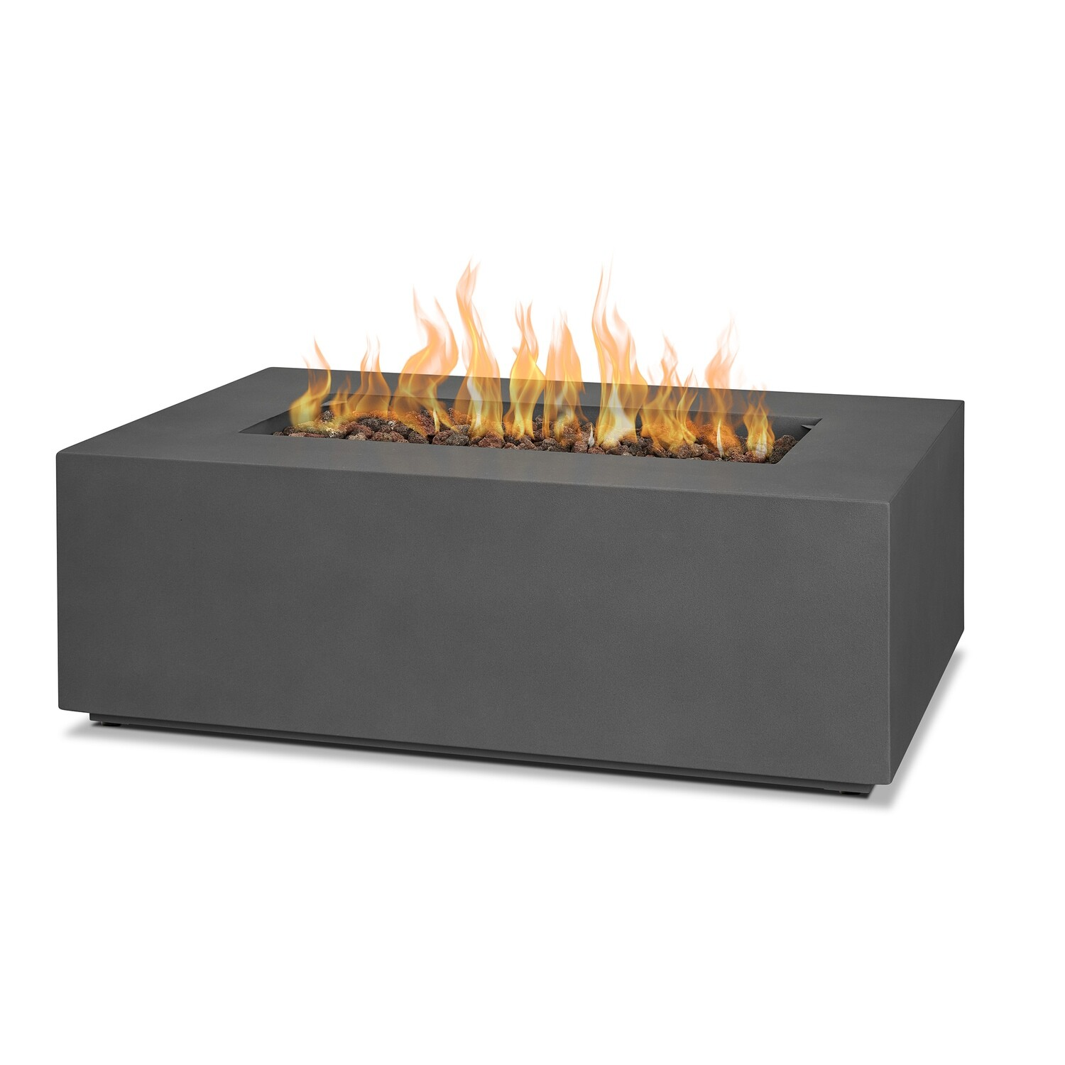 "Athens 42"" Rectangle Fire Pit Table 