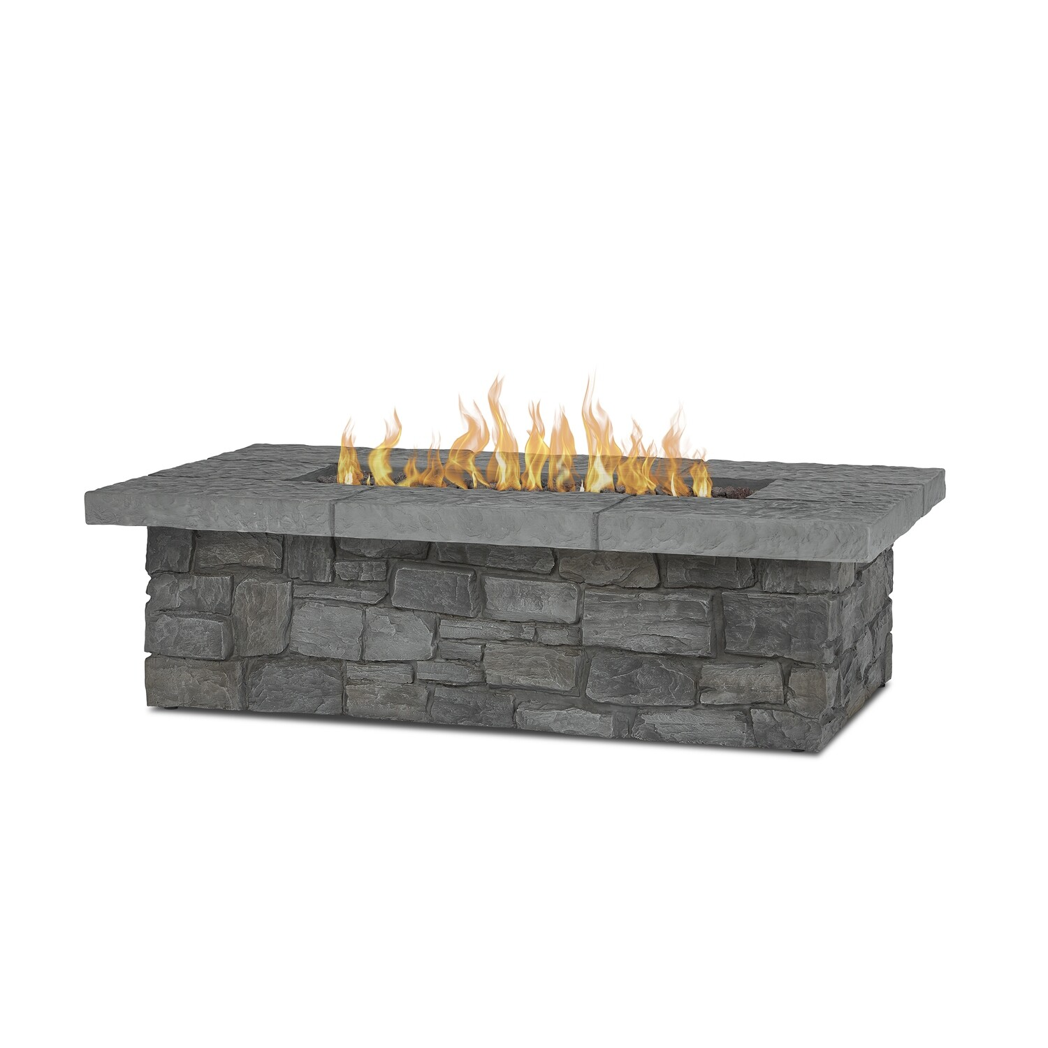 """Sandestin 52"""" Rectangle Fire Pit Table 