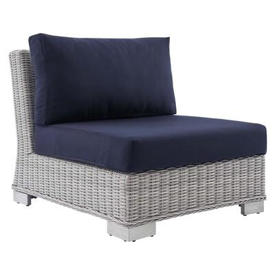 Beachside Sunbrella® Collection Armless Chair