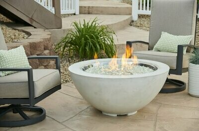 "Cove 30"" Fire Bowl | Natural White"
