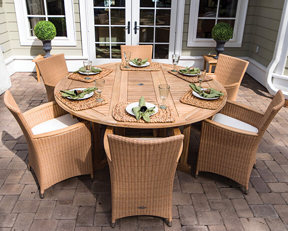 "60"" Naples 7 Piece Dining Set 