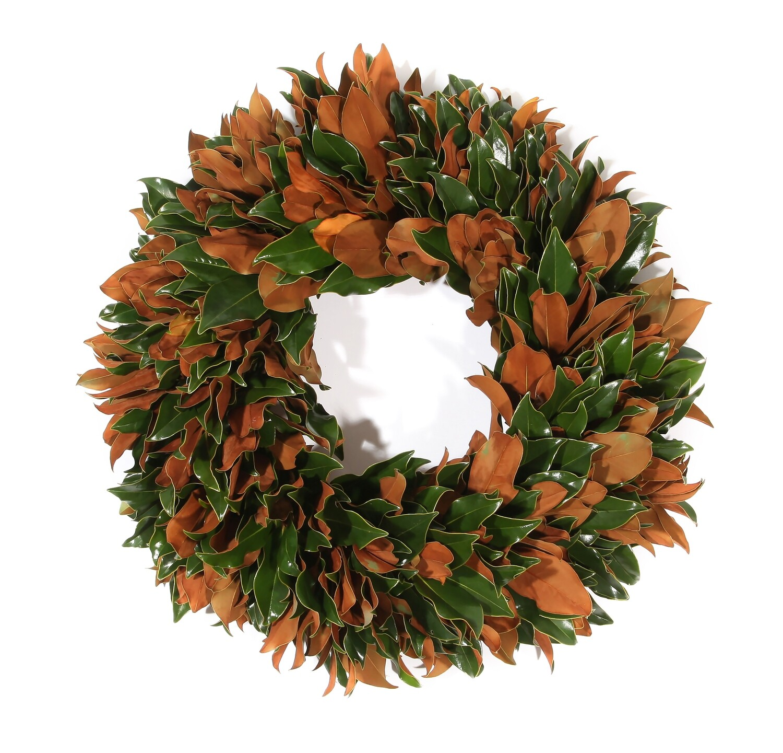"""Magnolia Velvet 22"""" Wreath"""