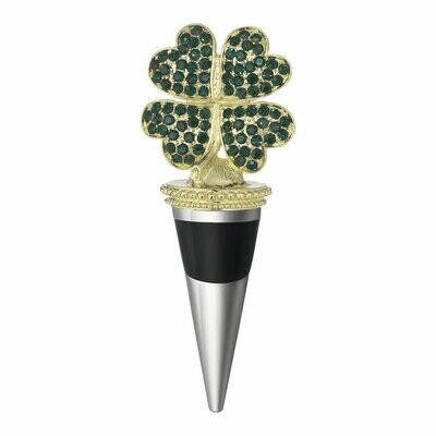 Four-Leaf Clover Bottle Stopper