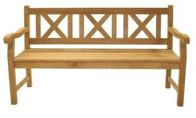 Premium Teak 5' Cross Bench