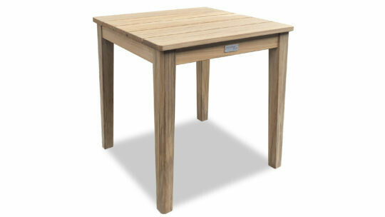 Cayman Teak Square End Table