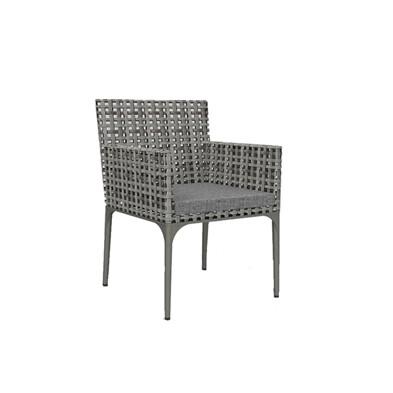 Portofino Open-Weave Dining Arm Chair