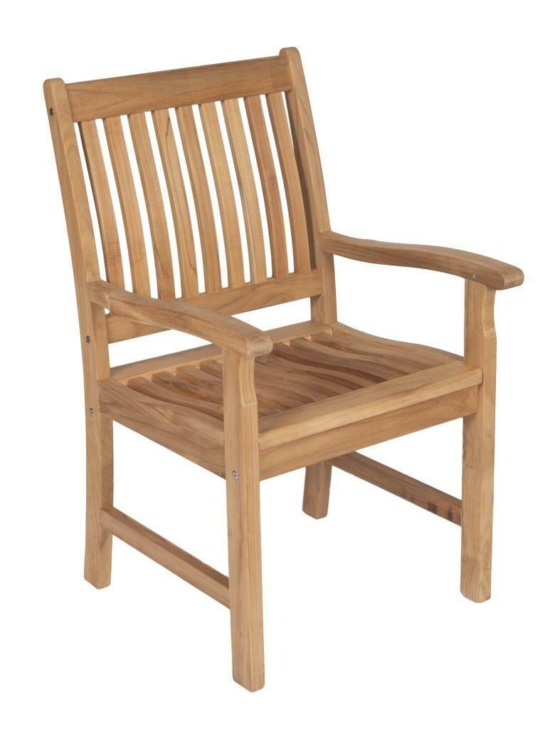 Teak Dining Arm Chair