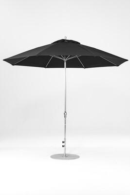 Monterey Round  Fiberglass Market Umbrella | Crank Lift - Auto Tilt