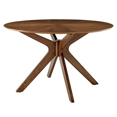 """47"""" Crossings Round Wood Dining Table"""