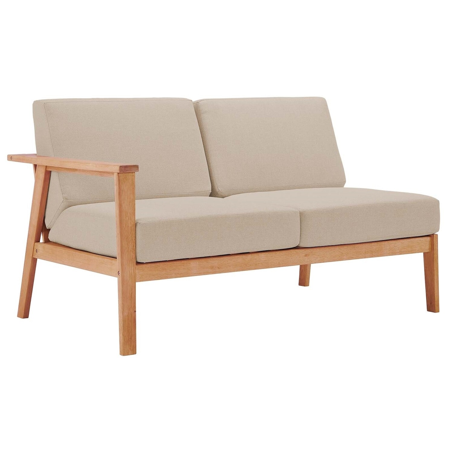 South Shore Sectional Sofa Left Arm Loveseat