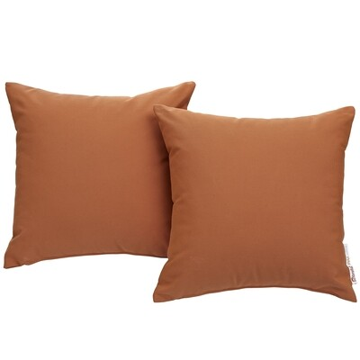 """Soho Patio 2 Piece Pillow Set  17"""" x 17"""" in Tuscan Canvas"""