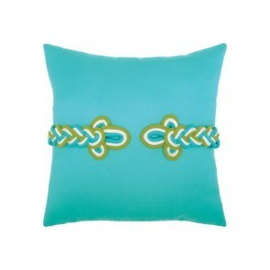 "Elaine Smith Frog's Clasp Indoor/Outdoor 19"" x 19"" Pillow 