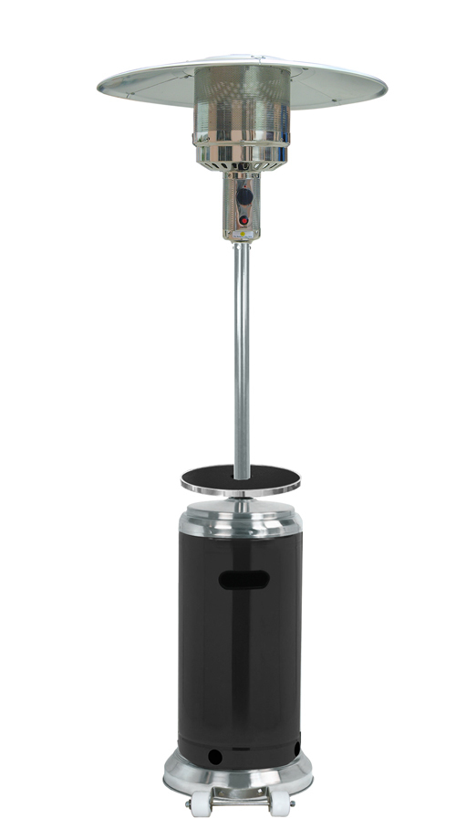 "87"" Tall Patio Heater with Table 