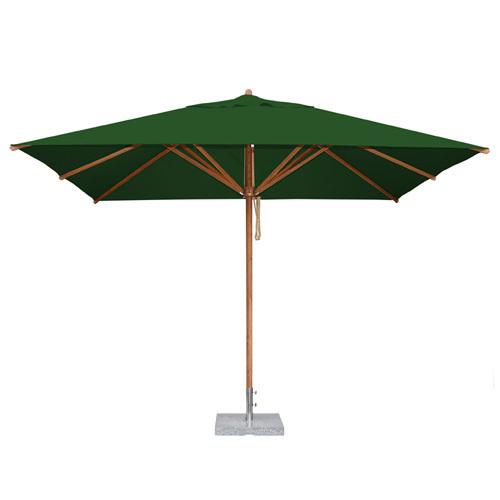 "Levante Rectangle 10' Market Umbrella (1.5"" Pole)   10 colors"