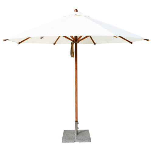 Levante Round 10' Market Bamboo Patio Umbrella | 10 colors