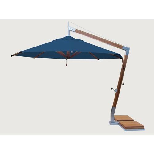 Levante Round Cantilever 11.5' Market Umbrella | 9 colors