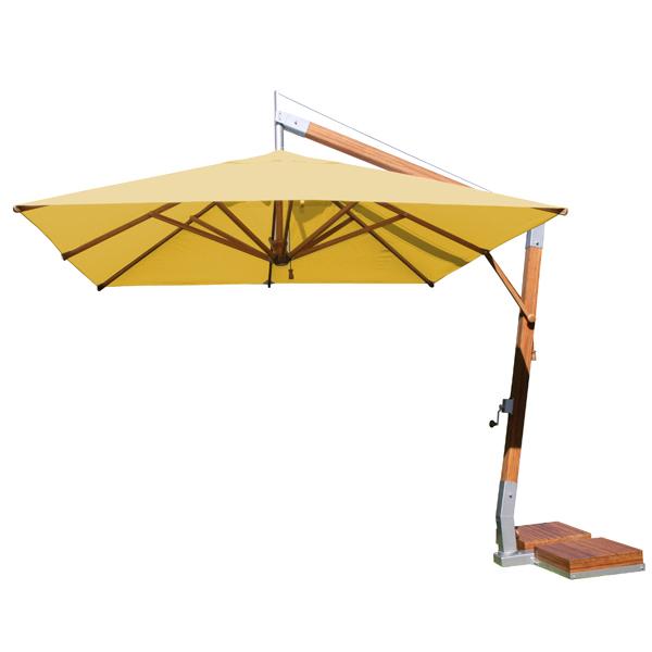 Square 10' Cantilever Market Umbrella   7 colors