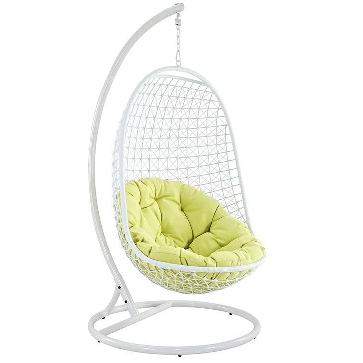 Enchant Swing Lounge Chair   White